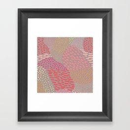 Hand Drawn Framed Art Print