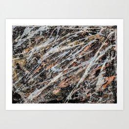 Copper ore Art Print