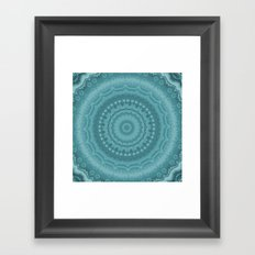 Kaleidescope blues Framed Art Print