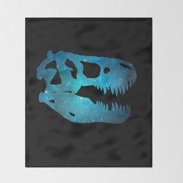 T-Rex Skull Throw Blanket
