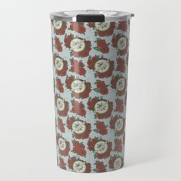 Let Your Heart Be Your Compass Pattern Travel Mug