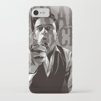 johnny cash iPhone & iPod Cases featuring Johnny Cash by Denis O'Sullivan