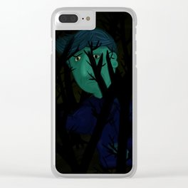 Navigating the dark Clear iPhone Case
