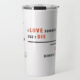 I love summer Travel Mug