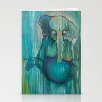ganesh Stationery Cards featuring Ganesh  by Magick Monica