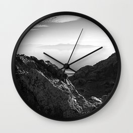 Floating Mtn. Wall Clock
