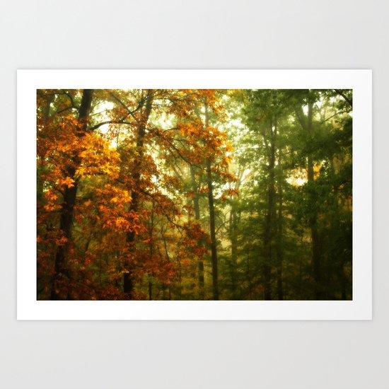 Mysterious Fall Art Print