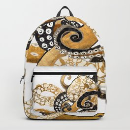Metallic Octopus Backpack