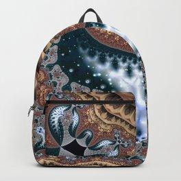Trees in Meditation Fractal Backpack