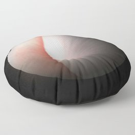 Globe23/For a round heart Floor Pillow
