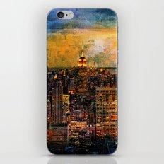 NYC Color Grunge iPhone & iPod Skin