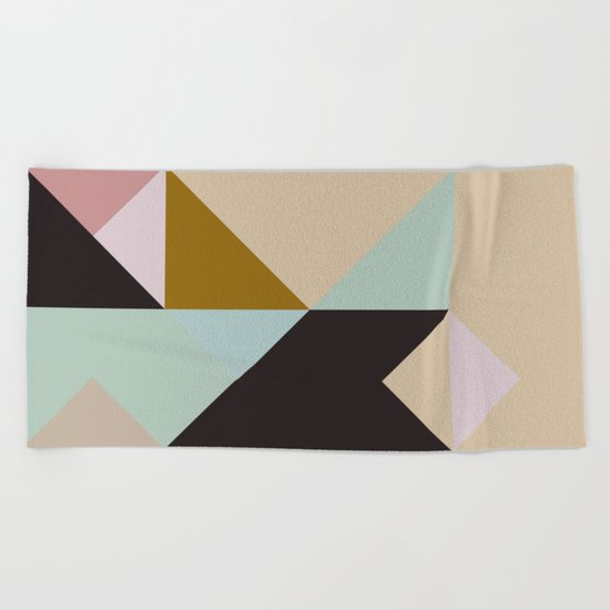 The Nordic Way IV Beach Towel