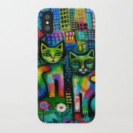 Metropolitan Cats iPhone Case