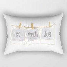 So Much Joy Rectangular Pillow