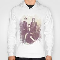 vampire diaries Hoodies featuring The Vampire Diaries TV Series by Nechifor Ionut