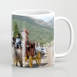 Catch the Afternoon Stage out of Silverton Coffee Mug