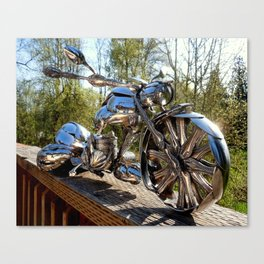 The Bagger ~ Front Canvas Print