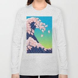 Piglets Waves Long Sleeve T-shirt