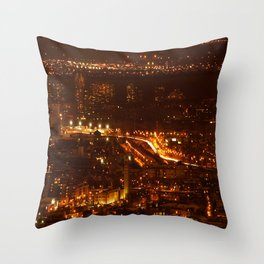 Montreal by night - 2 Throw Pillow