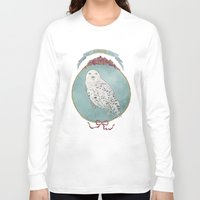 hedwig Long Sleeve T-shirts featuring RIP Hedwig by 366Sketchbook