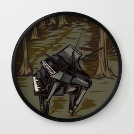Wild Music Wall Clock