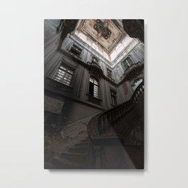 The Hall, abandoned palace Metal Print