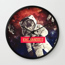 SPACE - KALIBANDULU Wall Clock