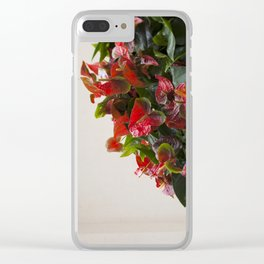 Anthurium Clear iPhone Case