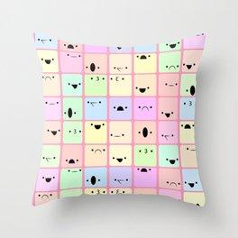 Baby Cubes Throw Pillow