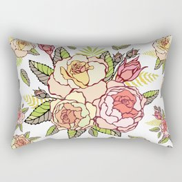 Pink roses. Rectangular Pillow