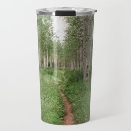 Wander Through The Aspen Forest Travel Mug