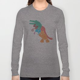 REX's Back Long Sleeve T-shirt
