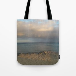 a view from the shore Tote Bag