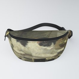 The cat at play Fanny Pack