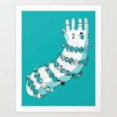 Bracelets and trinkets Art Print