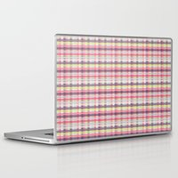 plaid Laptop & iPad Skins featuring Plaid by Livia Rett