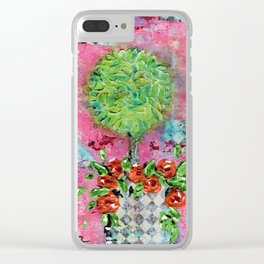 Classy Quin Clear iPhone Case