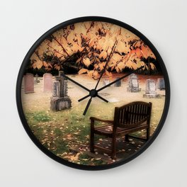 Contemplation, Open To Silence Wall Clock