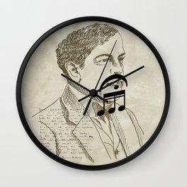 Claude Debussy Wall Clock