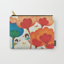 Love is Hide and Seek Carry-All Pouch