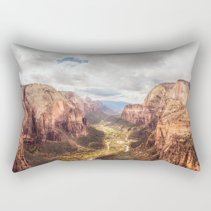 The Canyon Rectangular Pillow