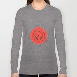 Tiny Telegrams Cipher Wheel Long Sleeve T-shirt