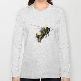 Bumblebee, bee art, bee design Long Sleeve T-shirt