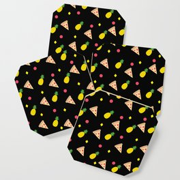 Pizza Pineapple Party Coaster