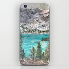 'A Glimpse (of the Canadian Rockies)' iPhone Skin