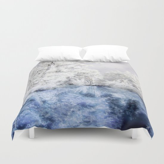 Frozen Beauty Duvet Cover