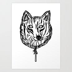 Lobollipop Art Print