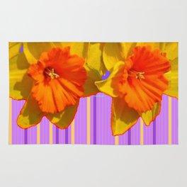 Daffodils Eye Candy Pattern Art Rug
