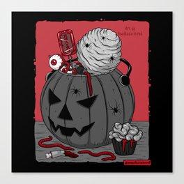 Сreepy candy Canvas Print