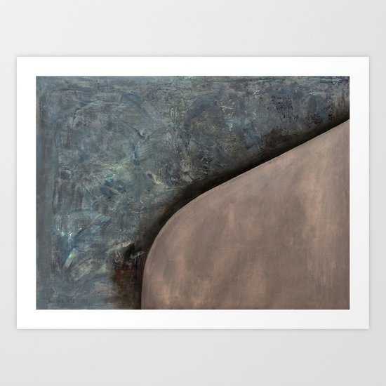 Paragon (oil on canvas) Art Print